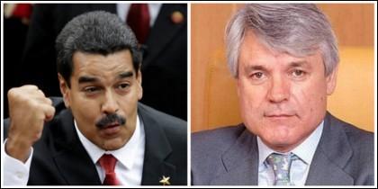 Nicolás Maduro y Blanco Balín.