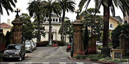 Entrada a Presidio Terrace, la calle más cara de San Francisco.