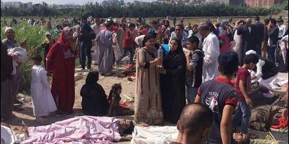 Choque trenes en Egipto
