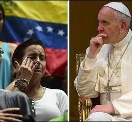 Preocupación del Papa por Venezuela
