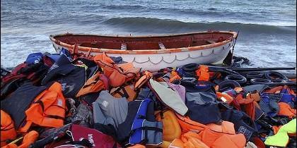 Tragedia de los refugiados en el Mediterráneo