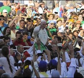 Francisco, Papa de los jóvenes