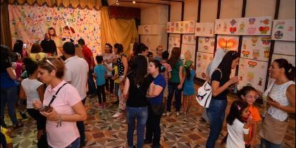 Campamento de verano para los niños de Alepo