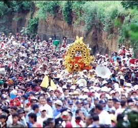 Fiestas patronales en Managua