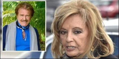María Teresa Campos y 'Bigote' Arrocet.