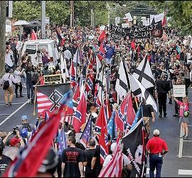 Manifestaciones racistas en Charlottesville