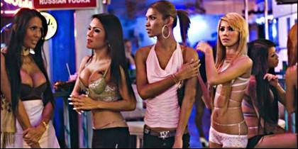 Sexo y prostitutas en Tailandia.