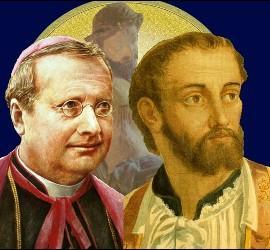 San Guido María Conforti y San Francisco Javier