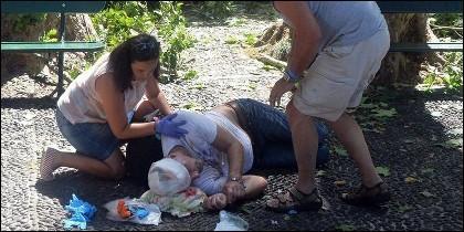 Una de las víctimas de la romería de Madeira.