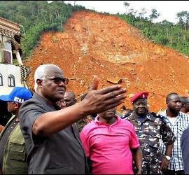 Ernest Bai Koroma, presidente de Sierra Leona pide ayuda urgente