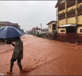 Inundaciones en S. Leona