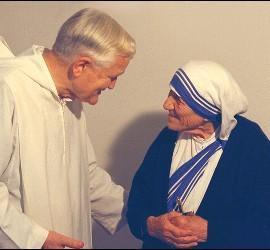 Roger y Madre Teresa