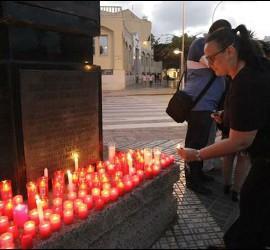Concentración silenciosa en Melilla en repulsa a la violencia