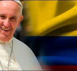 Vista del Papa a Colombia