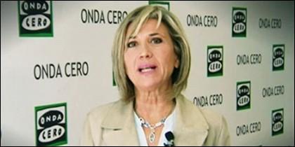 Julia Otero en Onda Cero.