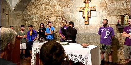 La bendición de la luz del Padre Castro Miramonte