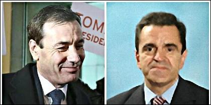 Tomás Gómez y José Manuel Franco.
