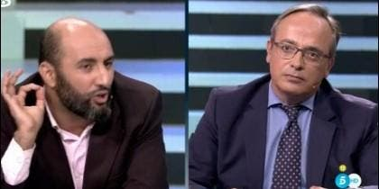 Houssein Ouariachi y Alfredo Urdaci.