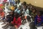 Menores acogidos tras la catástrofe