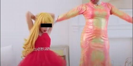 Niño de 8 años 'drag queen'