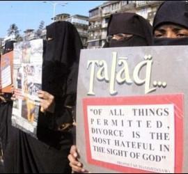 No al 'talaq'