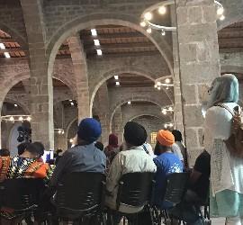 Acto interreligioso en Barcelona