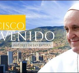 El Papa, en Medellín