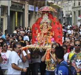 Imagen de Ganesh en Ceuta