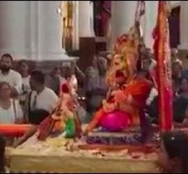 La diosa Ganesh, en el santuario de Nuestra Señora de África