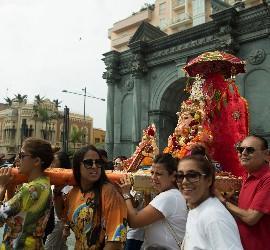 Procesión de Ganesh