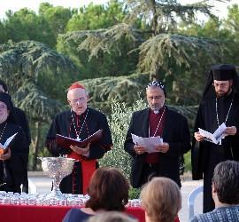 Osoro y jerarcas ortodoxos en la oración por el cuidado de la creación