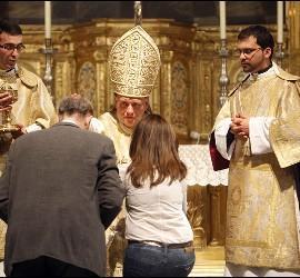 El nuncio apostólico en Guatemala, Nicolás Thevenin, de visita en Valencia