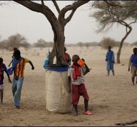 Niños en Chad