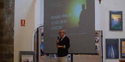 Pablo D'Ors, en las Jornadas de Teología de Urgell