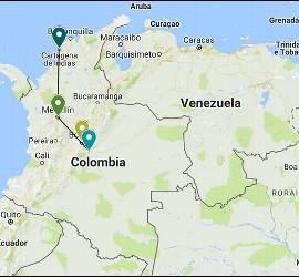 Éste será el itinerario del Papa en Colombia