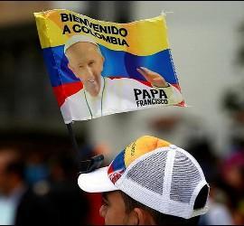 Ilusión en Colombia ante la visita de Francisco