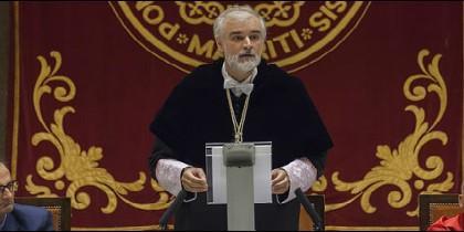 El rector de Comillas, Julio Martínez Sj