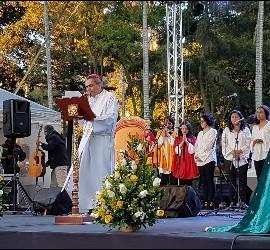 Vigilia previa a la llegada del Papa a Colombia