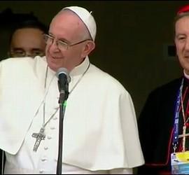 Francisco, y el cardenal Salazar