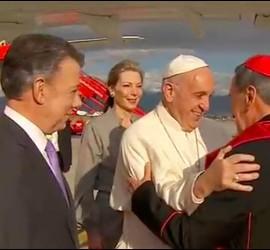 Francisco, Santos y el cardenal Salazar