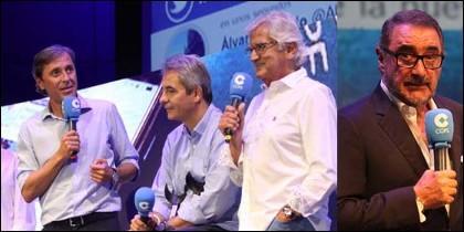 González, Lama, Castaño; y Carlos Herrera.
