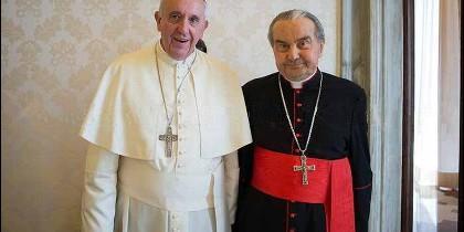 El Papa y el cardenal Cafarra
