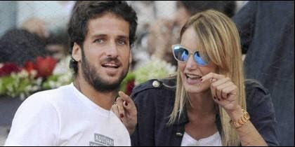 Feliciano López y Alba Carrillo, cuando eran matrimonio 'feliz'.