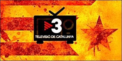 TV3, orgáno del independentismo en Cataluña.