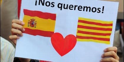 Cataluña y España se quieren