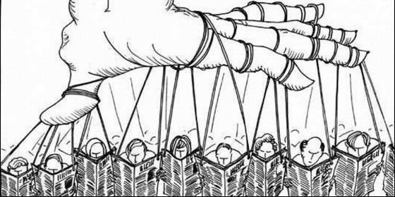 Información, periodismo, manipulación, propaganda y censura.