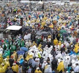 Villavicencio ya aguarda al Papa