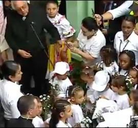 El Papa, en Casa San José