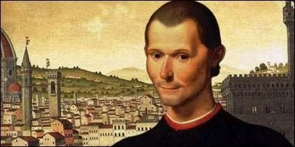 El florentino Niccolò Machiavelli (Maquiavelo).