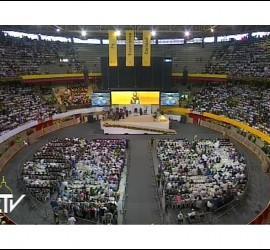 Encuentro con religiosos en La Macarena